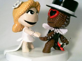 Custom Mii Wedding Cake Topper