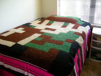 Custom Pixelated Afghan - Link