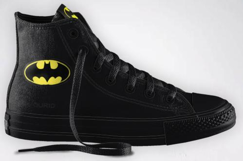 Customizable Batman & Superman Chuck Taylors