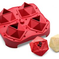 D20 Critical Hit Mini Cake Pan