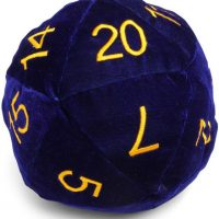 D20 Dice Pillow