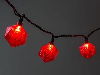 D20 String Lights