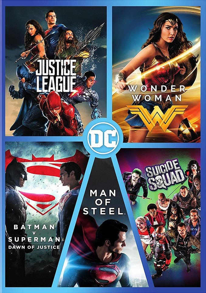 DC 5 Film Collection Blu-ray DVD