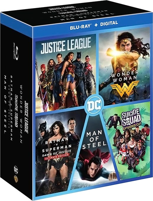 DC 5 Film Collection Blu-ray