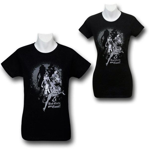 DC Bad Girls Are Good Shirt