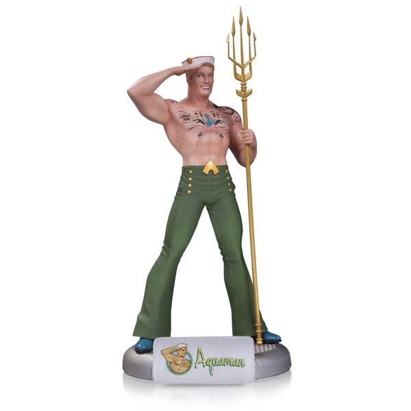 DC Bombshells Aquaman Statue