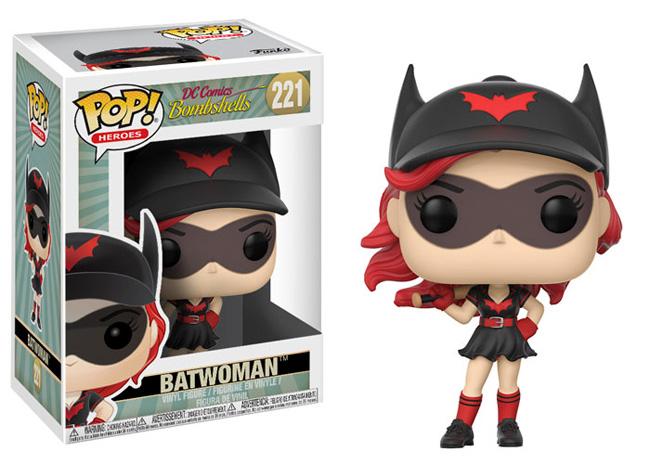 Dc Bombshells Batwoman Pop Vinyl Figure