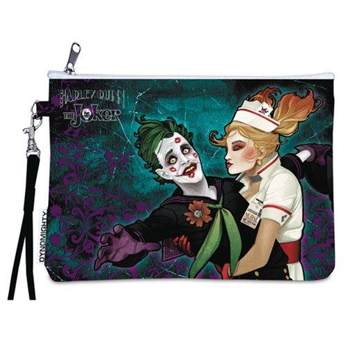DC Bombshells Joker and Harley Quinn Wristlet Purse