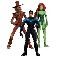 DC Collectibles Hush Scarecrow Nightwing and Poison Ivy Action Figures