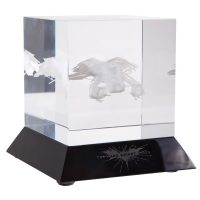 DC Collectibles The Dark Knight Rises The Bat Glass Etching