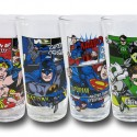 DC Comic Panel Action Pint Glass Set