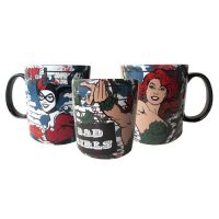 DC Comics Bad Girls Poison Ivy Harley Quinn Mug