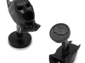 DC Comics Batman 3D Cowl Cufflinks