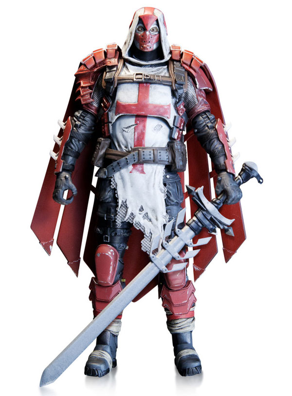 DC Comics Batman Arkham Knight Azrael Action Figure