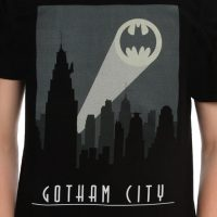 DC Comics Batman Art Deco Gotham City Shirt