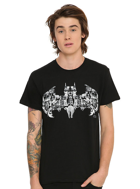 DC Comics Batman Cat Logo T-Shirt
