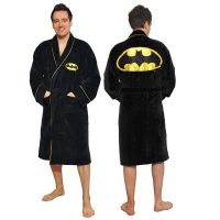 DC Comics Batman Fleece Bathrobe