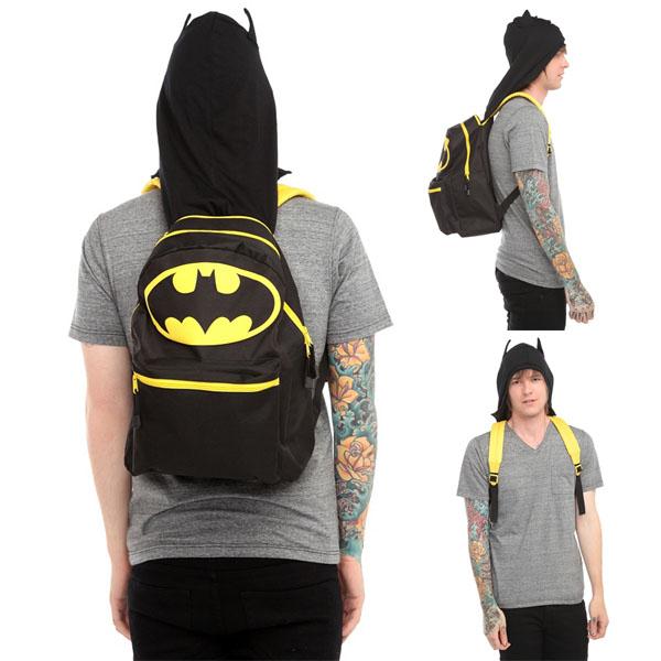 DC Comics Batman Hooded Backpack