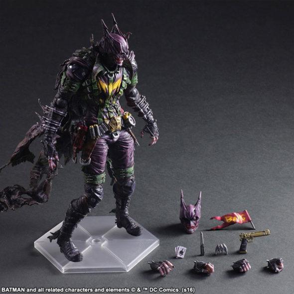 Batman Joker Rogues Gallery Play Arts Kai Variant Figure