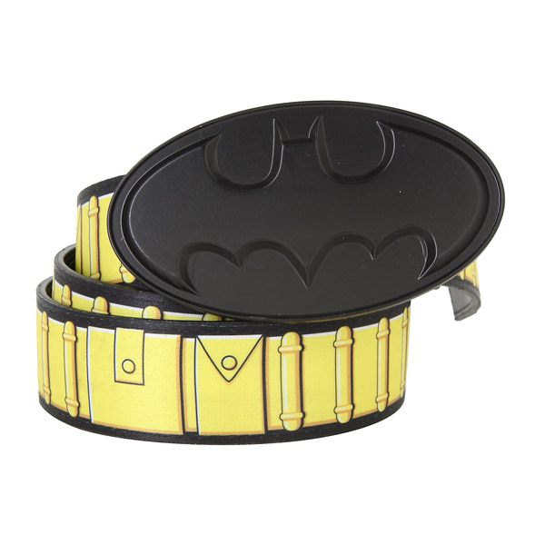 DC Comics Batman Reversible Belt and Buckle