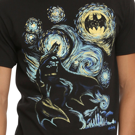 DC Comics Batman Starry Night Shirt