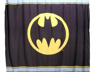 DC Comics Batman Symbol Shower Curtain