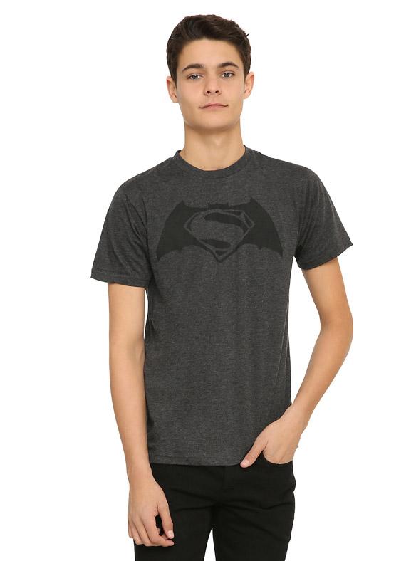 DC Comics Batman V Superman Dawn Of Justice Teaser T-Shirt