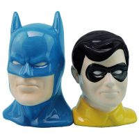 DC Comics Batman and Robin Salt and Pepper Shakers