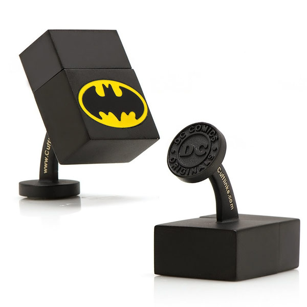 DC Comics Black Batman 4GB USB Cufflinks