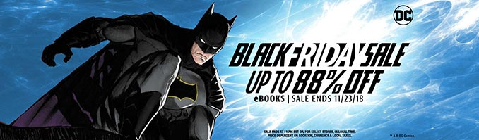 DC Comics Black Friday Sale