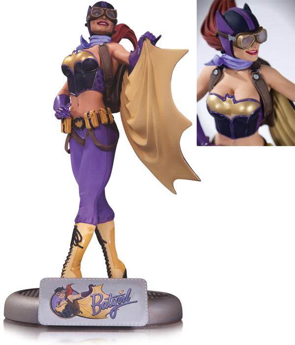 DC Comics Bombshells Batgirl Statue
