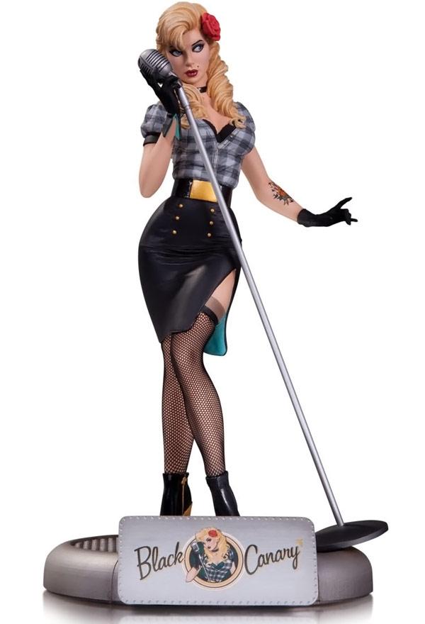 DC Comics Bombshells Black Canary Statue