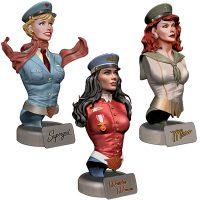 DC Comics Bombshells Busts