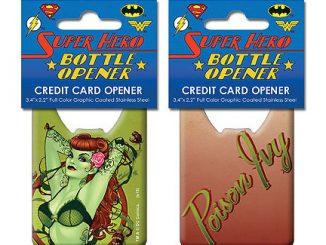 DC Comics Bombshells Poison Ivy Credit Card Bottle Opener