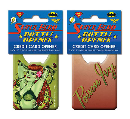 DC Comics Bombshells Poison Ivy Credit Card Bottle Opener