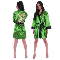 DC Comics Bombshells Poison Ivy Satin Robe