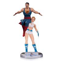 DC Comics Bombshells Power Girl and Superman Statue - small