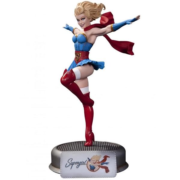 DC Comics Bombshells Supergirl Statue