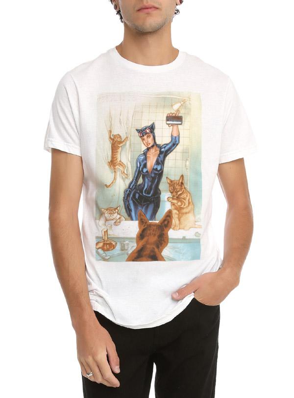 DC Comics Catwoman Selfie T-Shirt