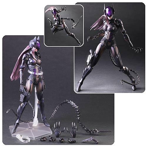 DC Comics Catwoman Variant by Tetsuya Nomura Play Arts Kai Action Figure