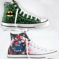 DC Comics Converse Chuck Taylors