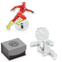 DC Comics Flash Action Cufflinks