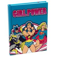 DC Comics Girl Power Hardcover Journal