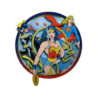 DC Comics Girl Power Wall Clock