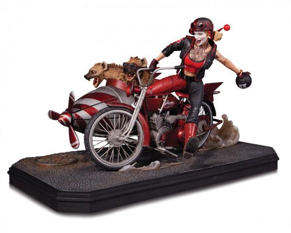 Dc Comics Gotham City Garage Harley Quinn Deluxe Edition