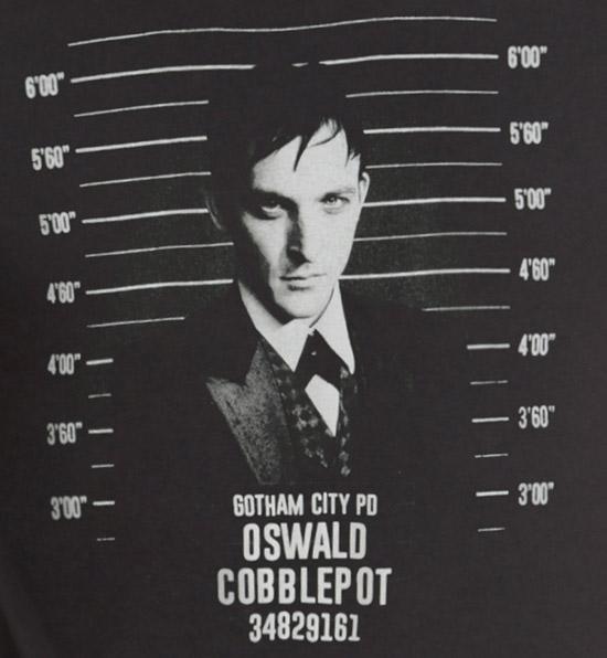 DC Comics Gotham Oswald Mugshot Shirt