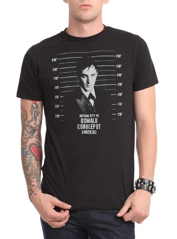 DC Comics Gotham Oswald Mugshot T-Shirt