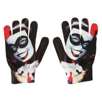 DC Comics Harley Quinn Face Gloves