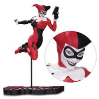 DC Comics Harley Quinn by Terry Dodson Red White and Black Statue