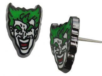 DC Comics Joker Face Stud Earrings